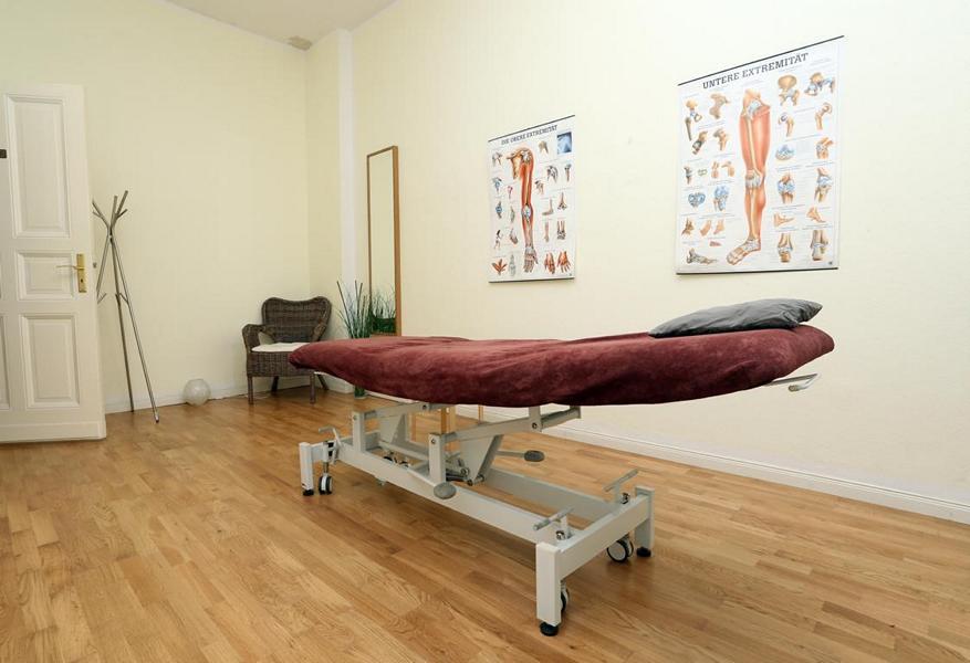 Praxis für Osteopathie & Physiotherapie - Behandlungsraum